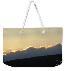 Weekender Tote Bag featuring the photograph 2 - June Sunset 2 by Christina Verdgeline