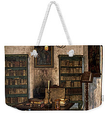 Junipero Serra Library In Carmel Mission Weekender Tote Bag