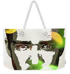 Justin Timberlake Weekender Tote Bag by Svelby Art