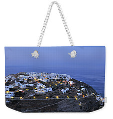 Kastro Village In Sifnos Island Weekender Tote Bag