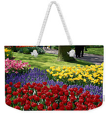 Keukenhof Garden, Lisse, The Netherlands Weekender Tote Bag by Panoramic Images