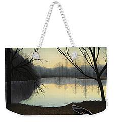 Lake Lene' Morning Weekender Tote Bag