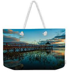 Lake Neatahwanta Weekender Tote Bag by Everet Regal