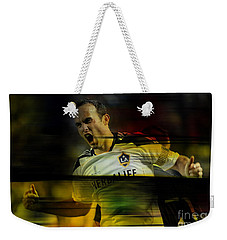 Landon Donovan Weekender Tote Bag by Marvin Blaine