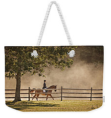 Last Ride Of The Day Weekender Tote Bag by Joan Davis