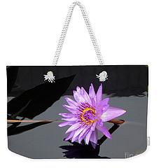 Lavender Lily Weekender Tote Bag