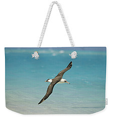Laysan Albatross Flying Midway Atoll Weekender Tote Bag by Tui De Roy