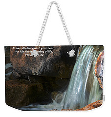 Life's Reflections Weekender Tote Bag by Deb Halloran