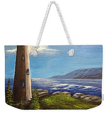 Lighthouse Weekender Tote Bag by Bozena Zajaczkowska
