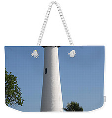 Weekender Tote Bag featuring the photograph Ligthouse - Key Biscayne by Christiane Schulze Art And Photography