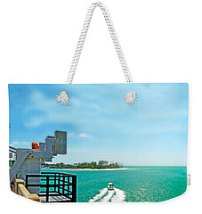 Longboat Pass Drawbridge Weekender Tote Bag