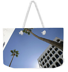 Weekender Tote Bag featuring the photograph Looking Up In Beverly Hills by Cora Wandel