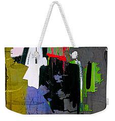 Los Angeles Map Watercolor Weekender Tote Bag by Marvin Blaine