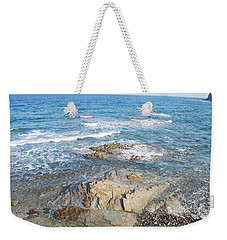 Weekender Tote Bag featuring the photograph Low Tide by George Katechis