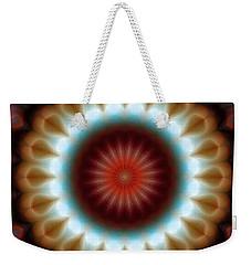 Mandala 83 Weekender Tote Bag by Terry Reynoldson