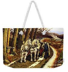 Maple Way Weekender Tote Bag