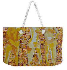 Mary Gestured Thrice Weekender Tote Bag