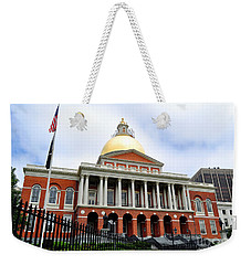 Massachusetts State House Boston Ma Weekender Tote Bag