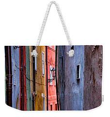 Medieval Alley Weekender Tote Bag