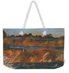 Mendota Slough Weekender Tote Bag