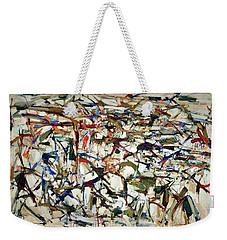 Mitchell's Piano Mecanique Weekender Tote Bag by Cora Wandel