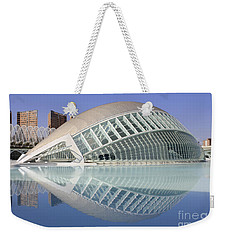 The Hemisferic In Valencia Spain Weekender Tote Bag