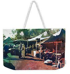 Morning Market Weekender Tote Bag