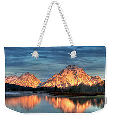 Mount Moran Weekender Tote Bag by Steve Stuller