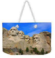 Mount Rushmore South Dakota Weekender Tote Bag