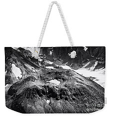 Weekender Tote Bag featuring the photograph Mt St. Helen's Crater by David Millenheft