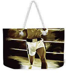 Muhammad Ali Boxing Artwork Weekender Tote Bag