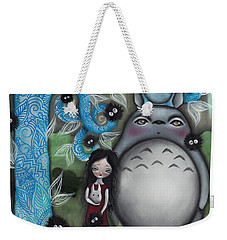 My Friend Weekender Tote Bag by Abril Andrade Griffith