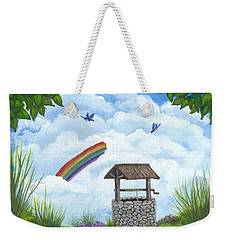 My Wishing Place Weekender Tote Bag by Sheri Keith