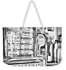 Name That Tune Weekender Tote Bag