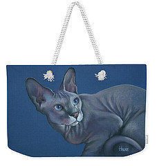 Weekender Tote Bag featuring the painting Nefertiti by Cynthia House