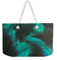 Weekender Tote Bag featuring the painting Northern Light by Jacqueline McReynolds