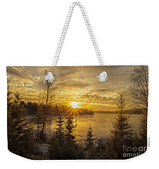 Weekender Tote Bag featuring the photograph Norway by Rose-Maries Pictures