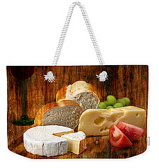 Norwegian Jarlsberg And Camembert Weekender Tote Bag