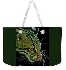Ocelot Weekender Tote Bag