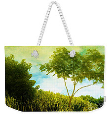 Ode To Monet Weekender Tote Bag by Amar Sheow