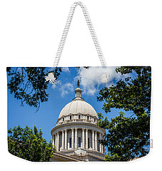 Oklahoma State Capital Dome Weekender Tote Bag