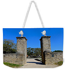Old City Gates Of St. Augustine Weekender Tote Bag