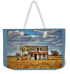 Weekender Tote Bag featuring the photograph Old Home by Savannah Gibbs