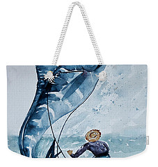 Old Man And The Sea Weekender Tote Bag