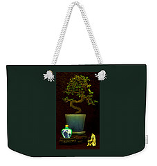 Old Man And The Tree Weekender Tote Bag