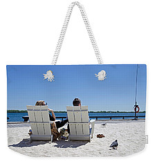 On The Waterfront Weekender Tote Bag by Keith Armstrong