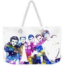 One Direction Weekender Tote Bag by Doc Braham