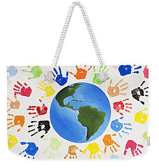 One World Weekender Tote Bag