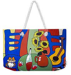 Oreo Weekender Tote Bag by Barbara McMahon