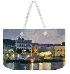 Panoramic View Of Spetses Town Weekender Tote Bag